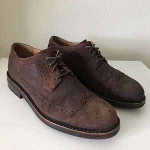 Polo Ralph Lauren Nyles Suede Wingtip Shoes